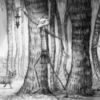 'Peter dans la forêt des Ombres'' - © Art by Carine-M