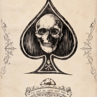 Playing Card 'Ace of Spades'