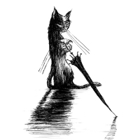 Black the Terrible Cat