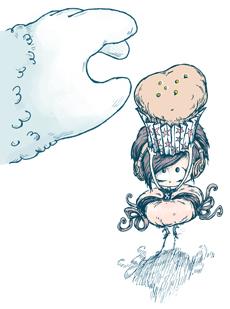 Spooky-Muffin-230x309