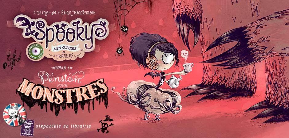 Slider Spooky-tome 1