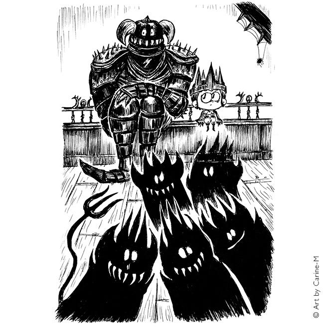 Orage, petit seigneur des ténèbres